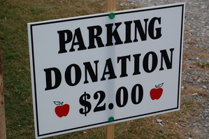 Apple Festival Parking Donation