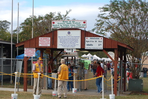 Apple Festival Main Gate Entrance